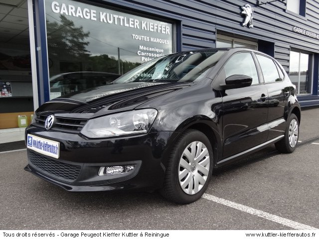 WOLKSWAGEN POLO 1.6L TDI 90CV 2009 - Voiture d'occasion