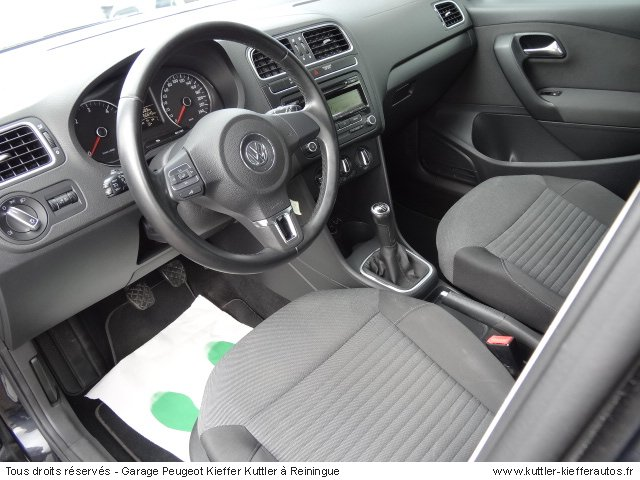 VOLKSWAGEN POLO 1.6L TDI 90CV 2009 - Voiture d'occasion