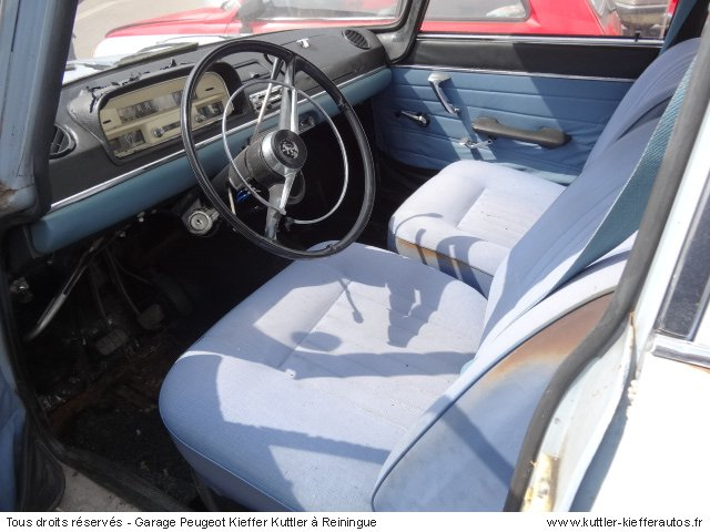 PEUGEOT 404 BERLINE 1965 - Voiture d'occasion