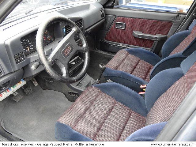 PEUGEOT 309 GTI 5 PORTES 1991 - Voiture d'occasion
