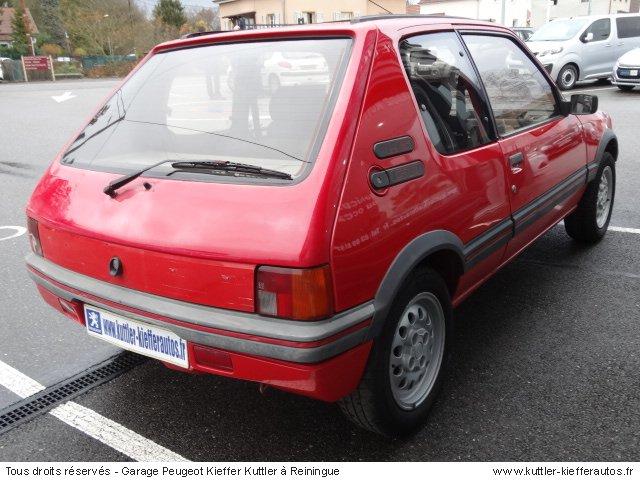 PEUGEOT 205 GTI 1.6L 115 CV 1987 - Voiture d'occasion