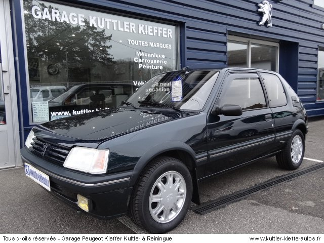 PEUGEOT 205 GTI GENTRY BVA 1992 - Voiture d'occasion