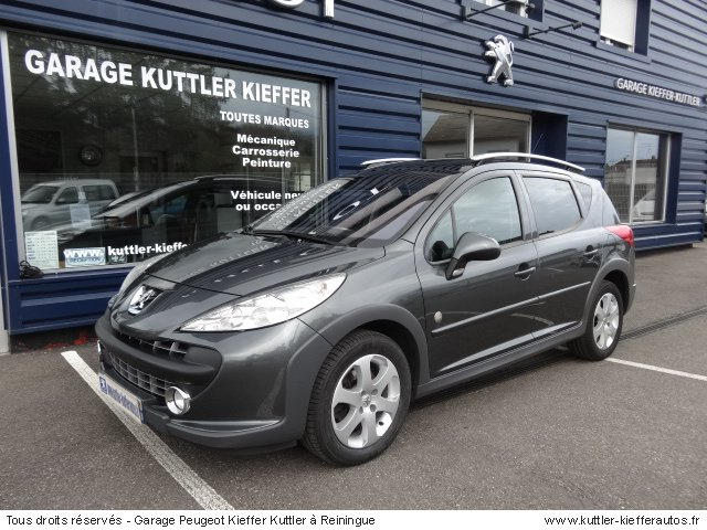 PEUGEOT 207 SW OUTDOOR 1.6L HDI 92CV 2009 - Voiture d'occasion