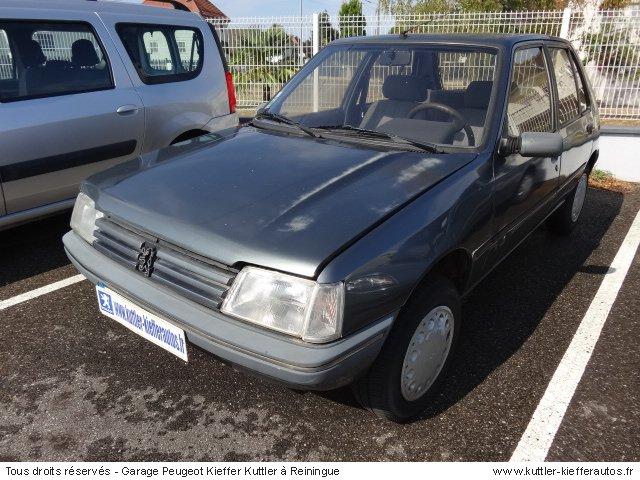PEUGEOT 205 AUTOMATIQUE 1991 - Voiture d'occasion