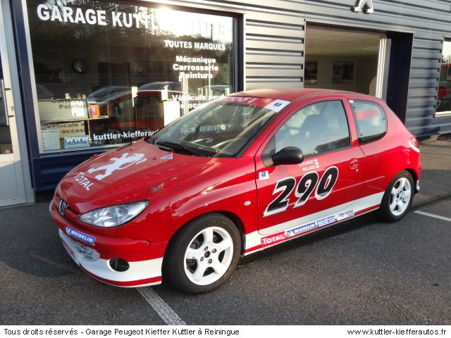 PEUGEOT 206 S16 CUP 1999 - Voiture d'occasion