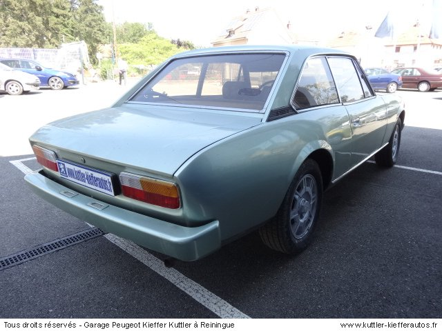 PEUGEOT 504 COUPE 2L INJECTION 1979 - Voiture d'occasion