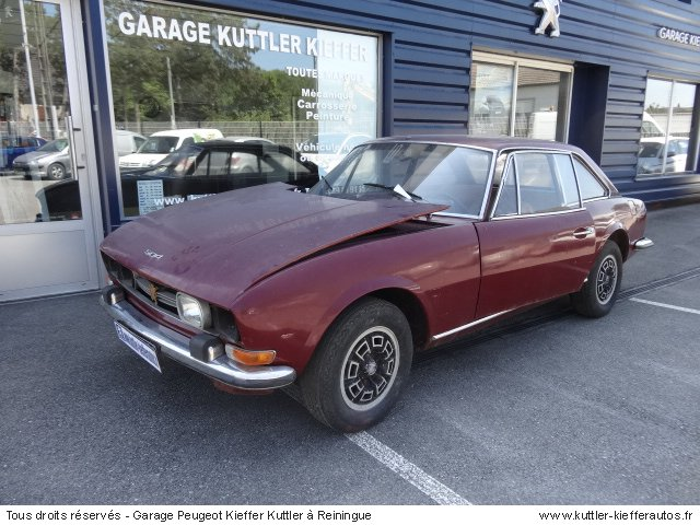 PEUGEOT 504 COUPE 4 CYLINDRES BVA 1974 - Voiture d'occasion