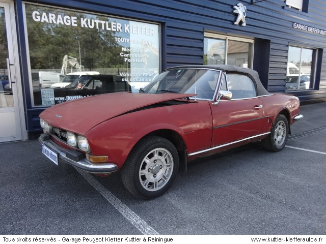 PEUGEOT 504 CABRIOLET 1.8L INJECTION 1970 - Voiture d'occasion