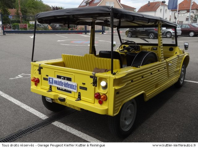 CITROEN MEHARI 4 PLACES 1979 - Voiture d'occasion