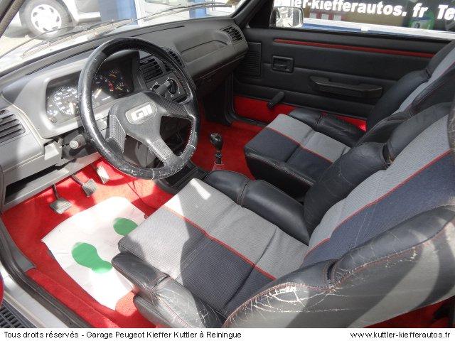 PEUGEOT 205 GTI 1.6L 115 CV 1988 - Voiture d'occasion