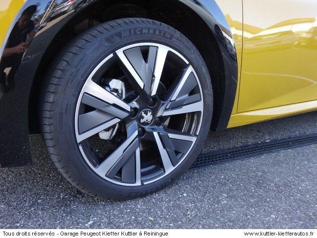 PEUGEOT 208 GT LINE 2020 - Voiture d'occasion