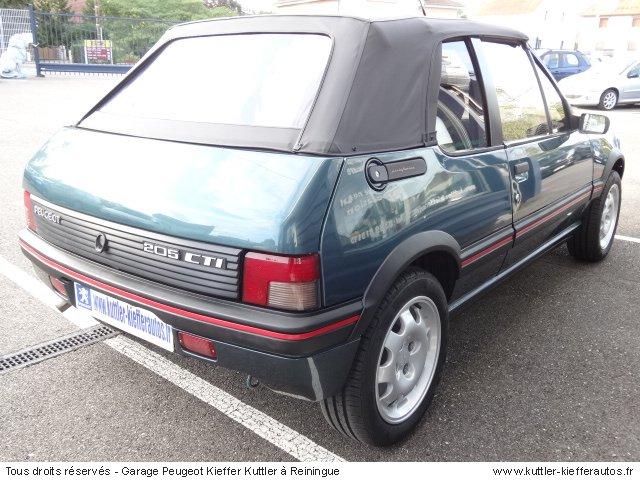 PEUGEOT 205 GTI CTI 1.9L 105 CV 1992 - Voiture d'occasion