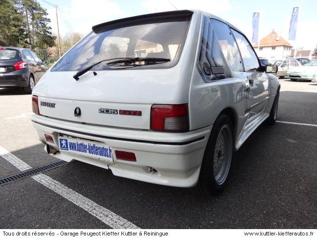 PEUGEOT 205 GTI GTI 1.9L GUTMANN 1989 - Voiture d'occasion