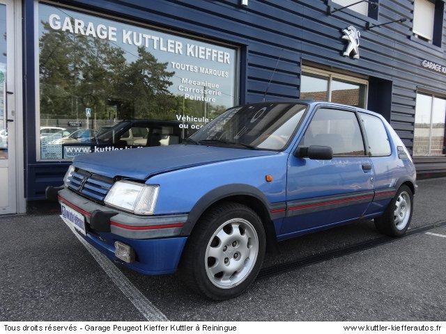 PEUGEOT 205 GTI 1.9 L LE MANS 1991 - Voiture d'occasion